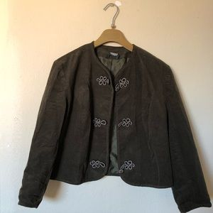 Laura ashley  corduroy coat